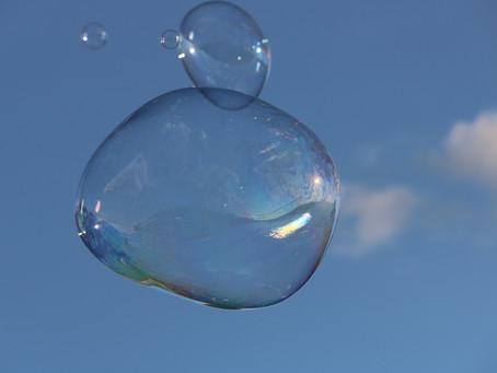 Come una bolla di sapone