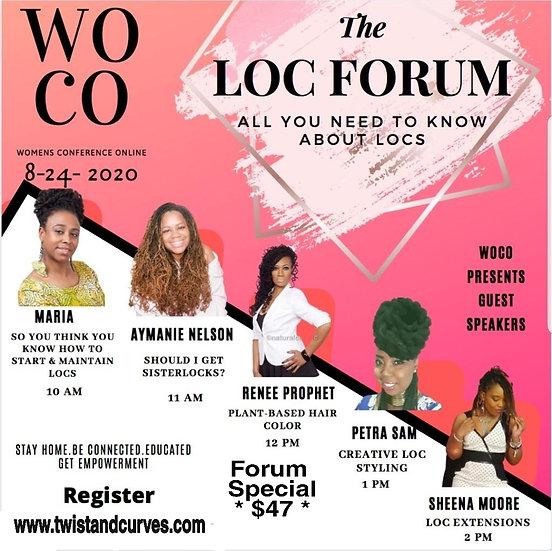 The Loc Forum