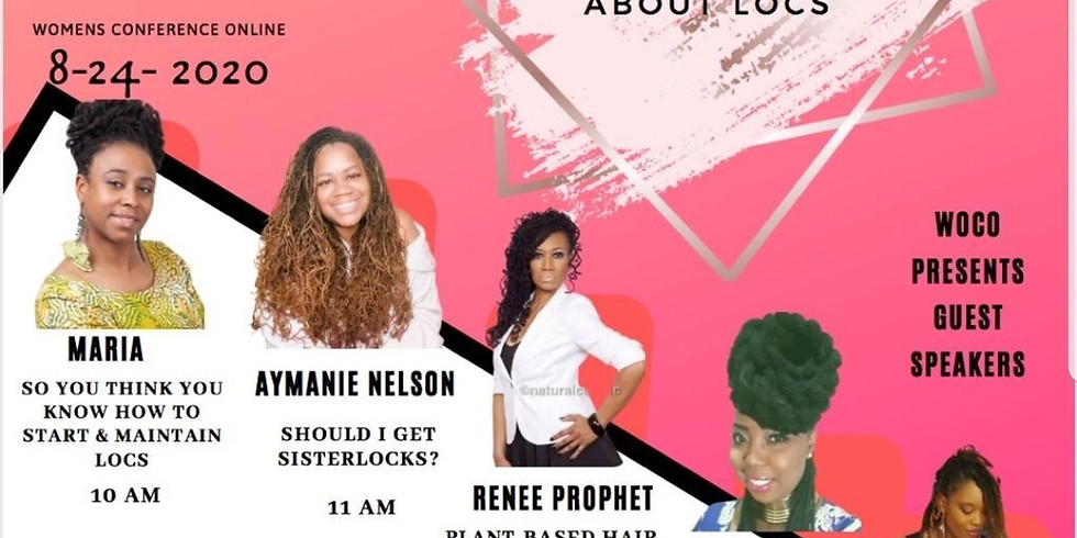 Loc Forum on All You Need To Know About Locs