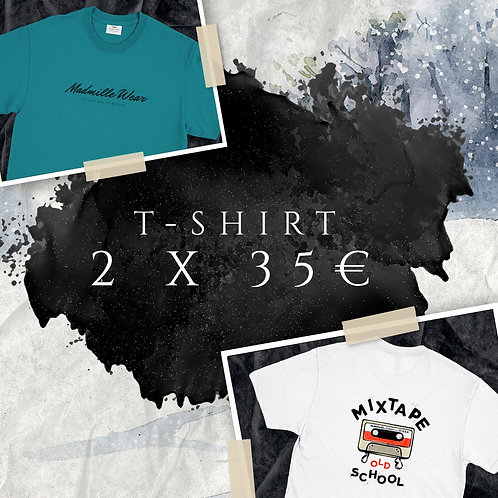 PACK T-SHIRT NEW COLLECTION