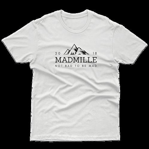 Camiseta Montaña Madmille Wear Mountain Blanca