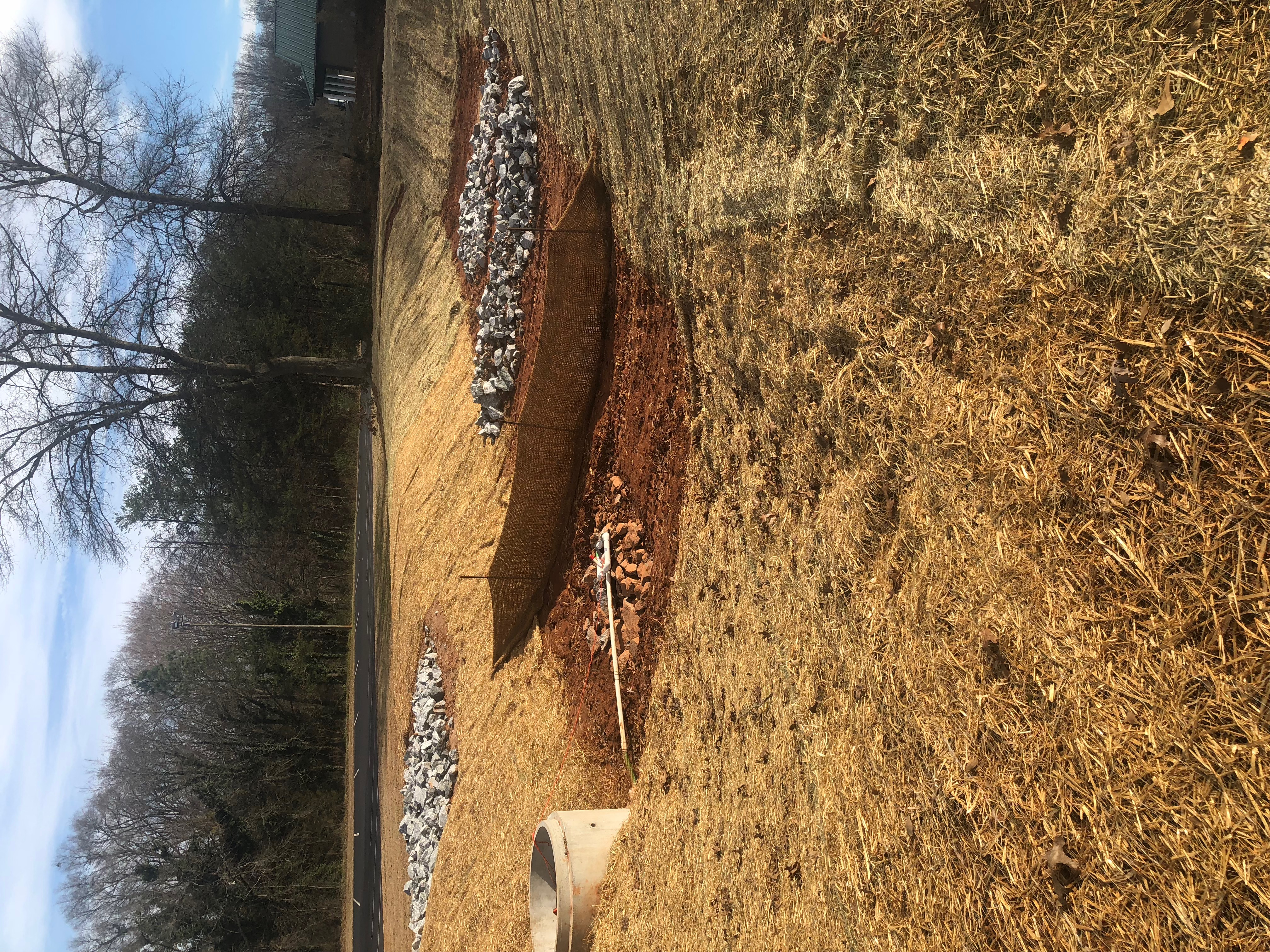 Retention Pond Completion