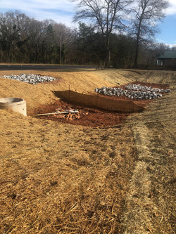 Retention Pond Completion