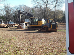 Start of Our Retention Pond