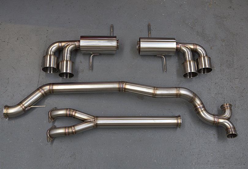 Nissan GTR R35 Custom Stainless Exhaust