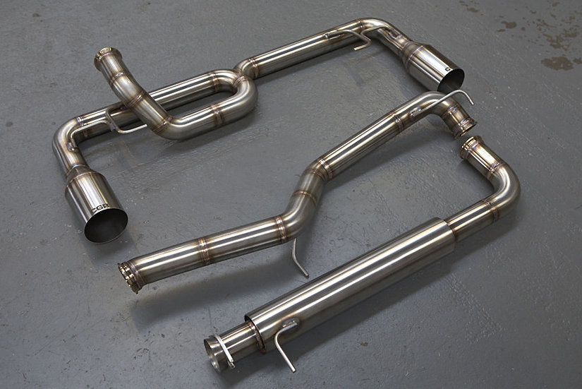 Mazda 3 MPS Stainless Steel Exhaust