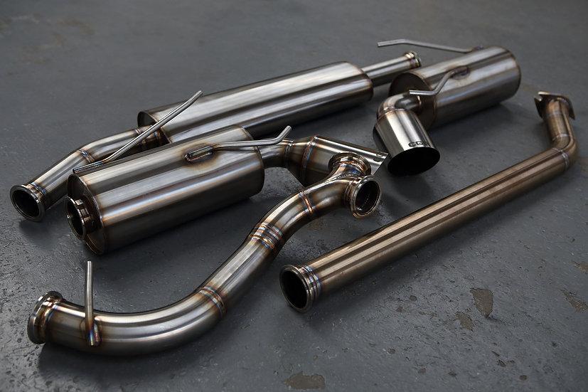 Toyota GT86 Subaru BRZ Exhaust System