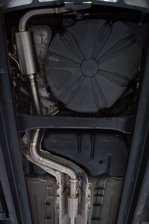 Titanium Megane Exhaust