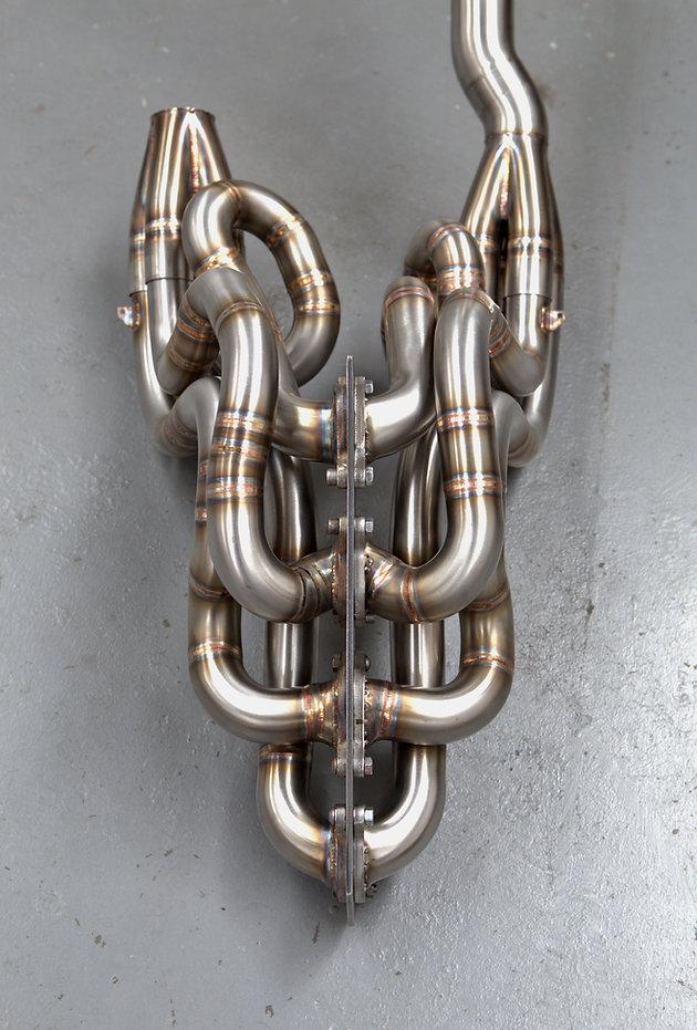 Mercedes C63 AMG Exhaust Manifolds Long Tube Headers