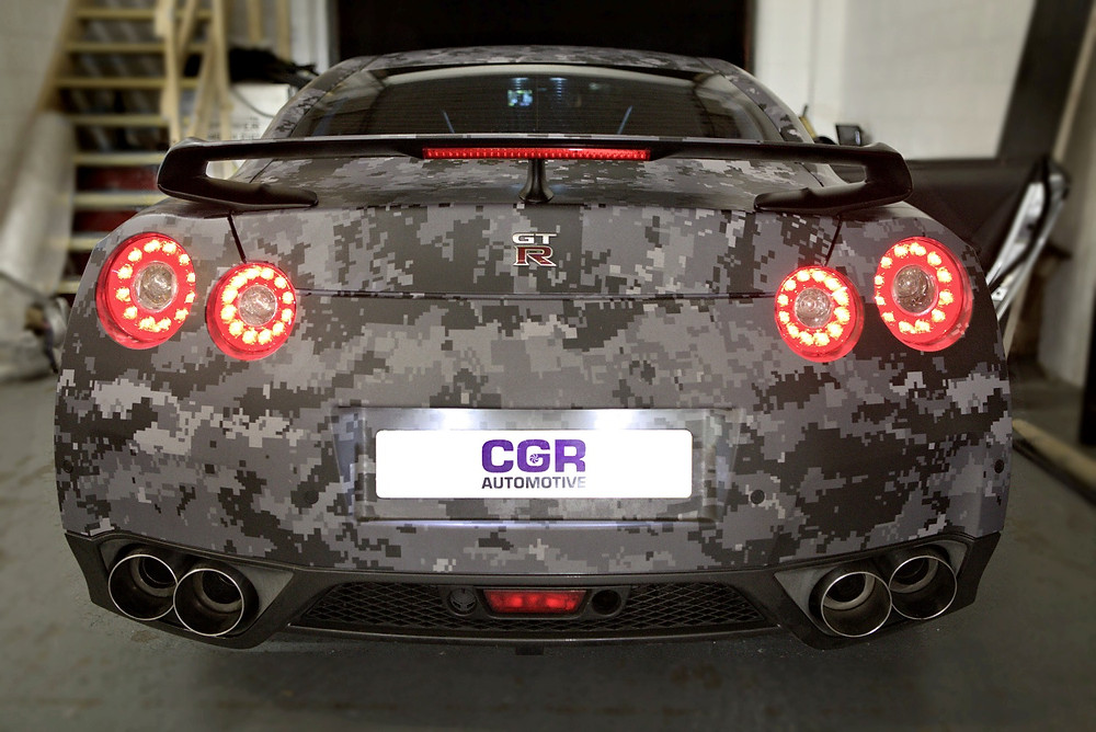 R35 GTR Custom Exhaust