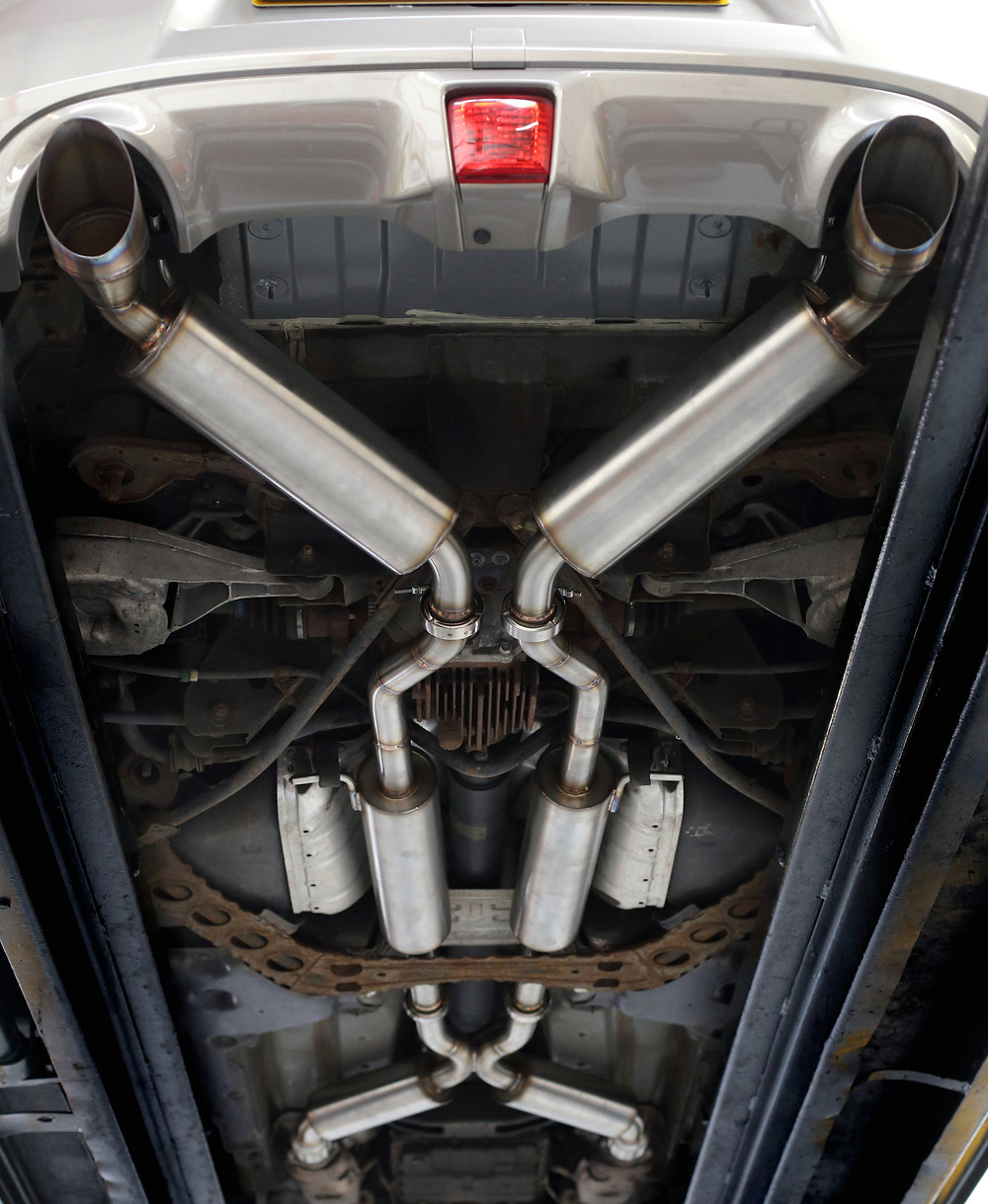 Nissan 370z Exhaust