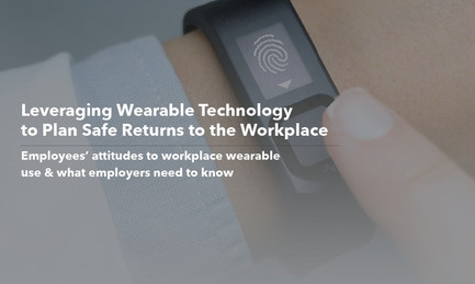 Leveraging Wearable Technology to Plan Safe Returns to the Workplace