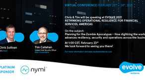 Join Nymi at EVOLVE 2021 Virtual Conference