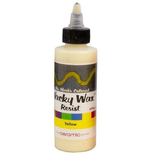 Wacky Wax Resist - Yellow 4oz