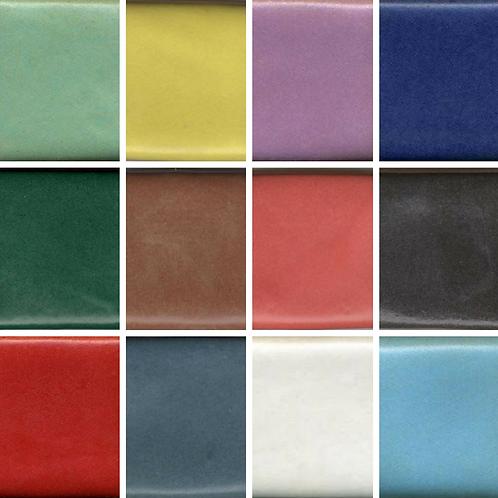 12 Satin Colors Sample Set #5
