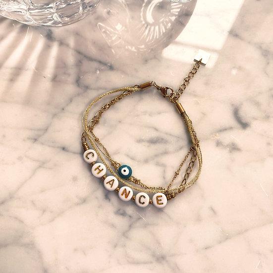 Bracelet Mila Quatro Chance Doré