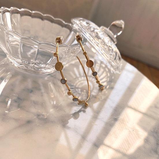 Boucles d'Oreilles Zag Shine