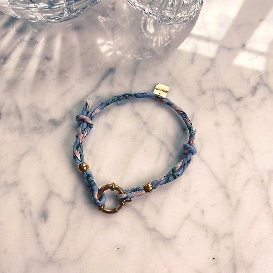 Bracelet Mila Fabrics Bleu