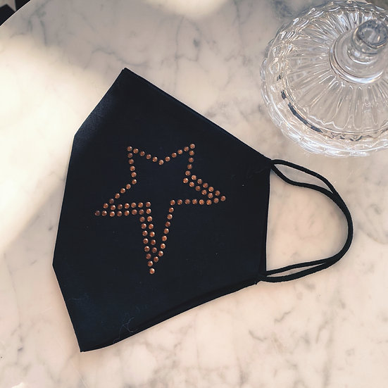 Masque Star Noir