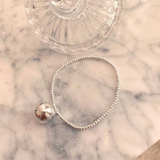 Bracelet Ball Argent