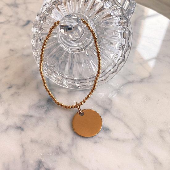 Bracelet Breloque Plaqué Or