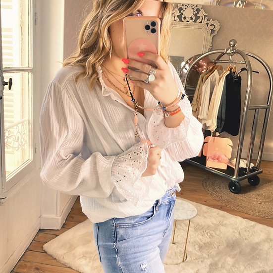 Chemise Isabelle Blanche