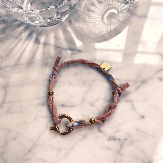 Bracelet Mila Fabrics Vieux Rose