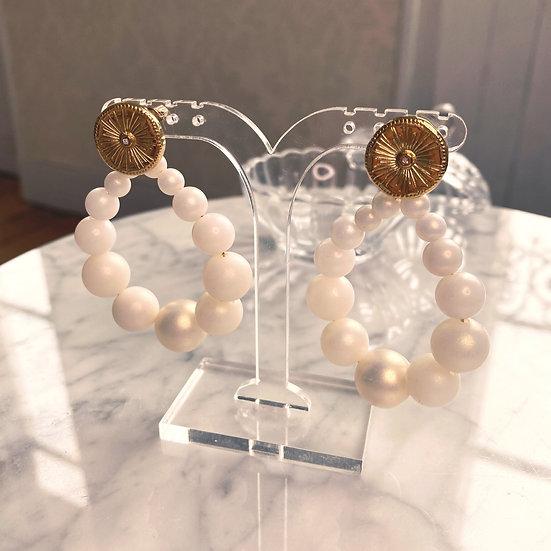 Boucles D'oreilles Mila Balls Perles
