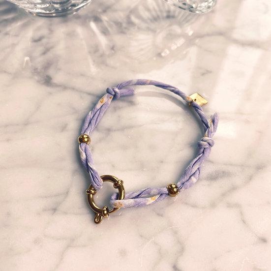 Bracelet Mila Fabrics Lila