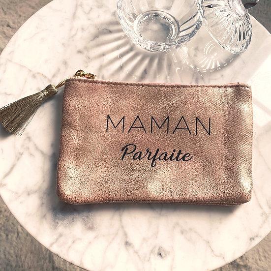 Pochette Maman Parfaite Rose Gold