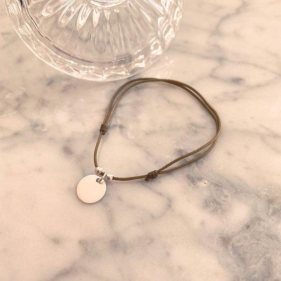 Bracelet Cordon Pampille Argent