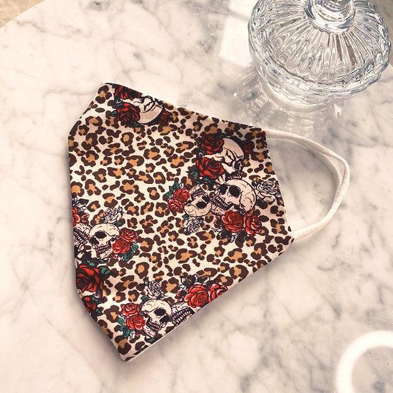 Masque Leopard & Rose
