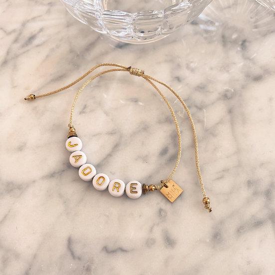 Bracelet Mila Cordon J'adore
