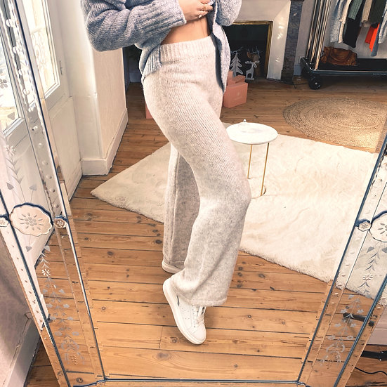 Pantalon Pull Ecru