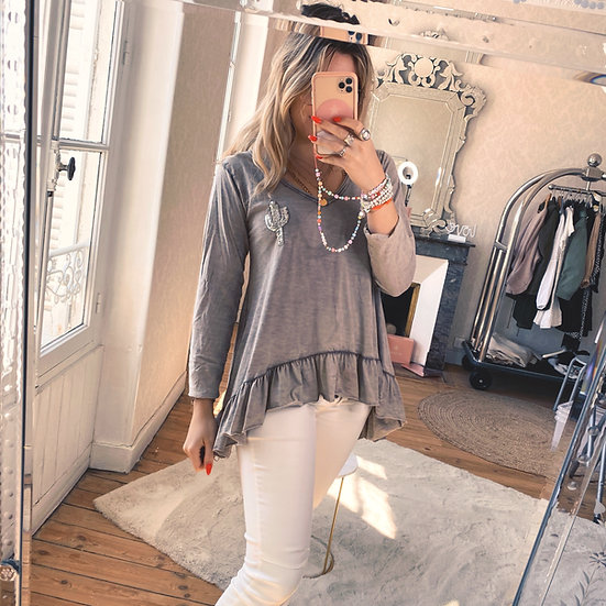 Blouse Cactus Taupe