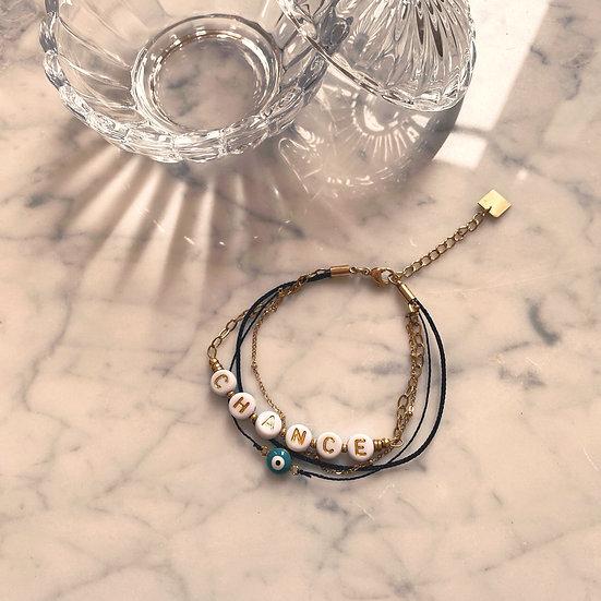 Bracelet Mila Quatro Chance Noir