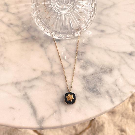 Collier Zag Stone Onyx
