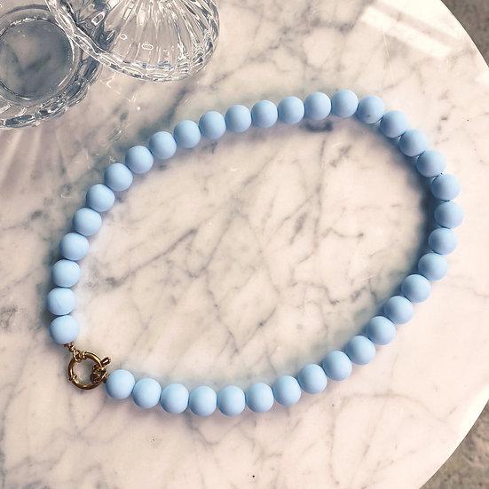 Collier Mila Balls Bleu