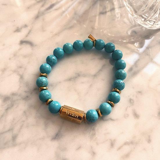 Bracelet Mila Love en Turquoise