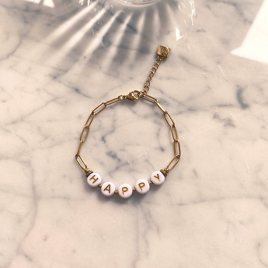 Bracelet Mila Chaîne Happy