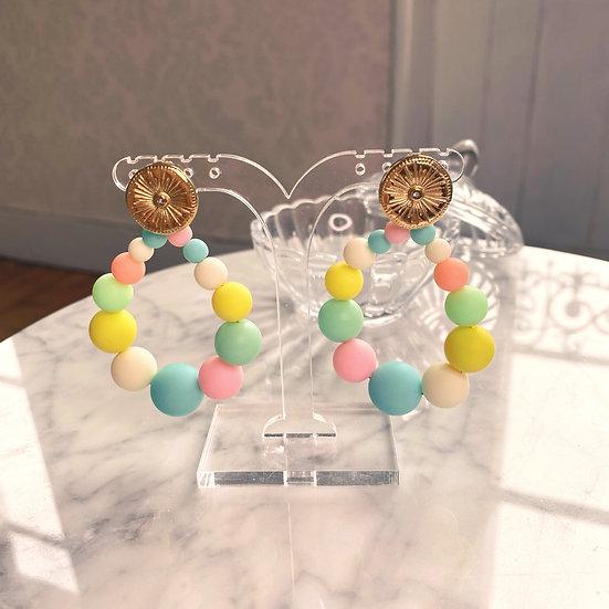 Boucles D'oreilles Mila Balls Pastel