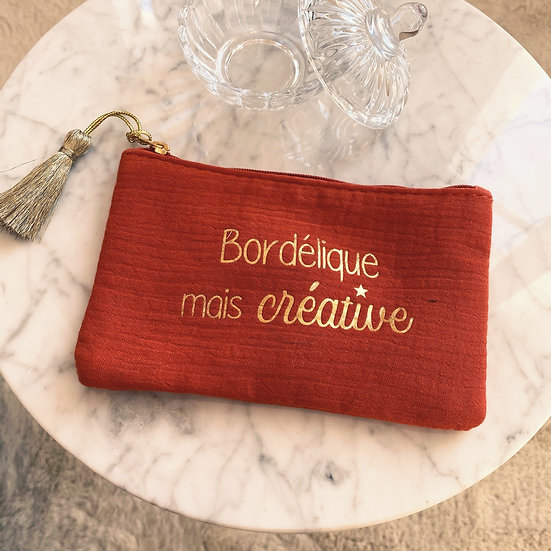Pochette Bordélique Mais Créative Rouille