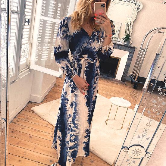 Robe Olympe Bleu