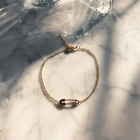 Bracelet Epingle Plaqué Or