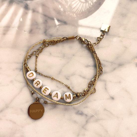 Bracelet Mila Quatro Dream Doré