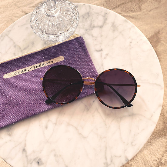 Lunettes de Soleil Janis Ecailles Charly Therapy