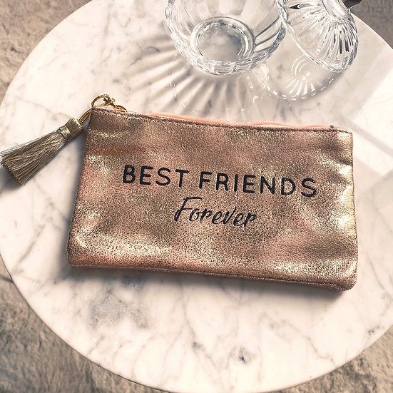Pochette Best Friends Forever Rose Gold