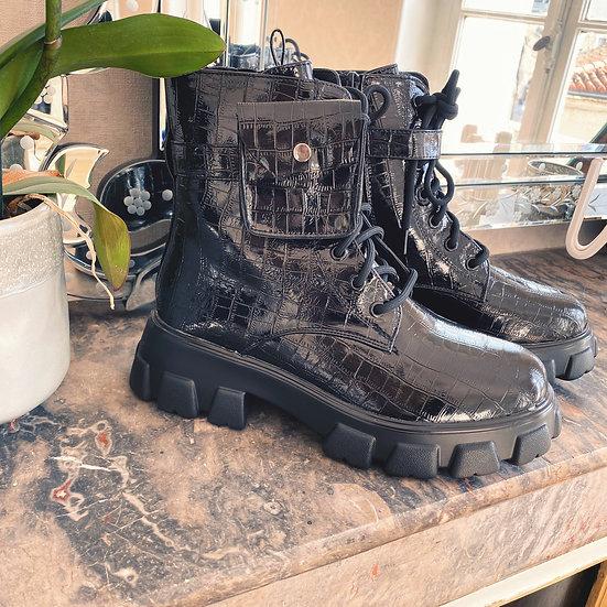 Boots Pochette Noir