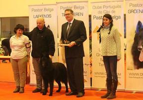 Jesper judging Breedspecialty in Portugal 2015