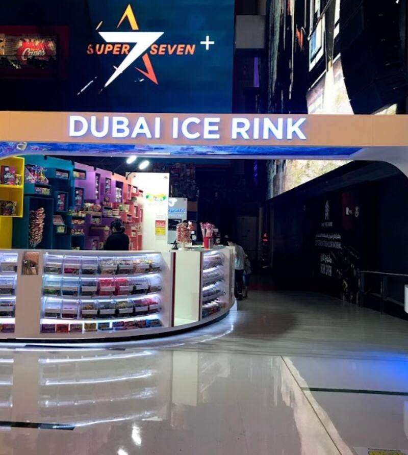 Hire a driver to visit Dubai Ice Rink